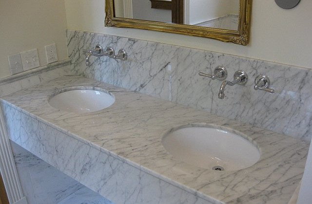 Marble Bathroom Countertops  Give your bathroom a modern look